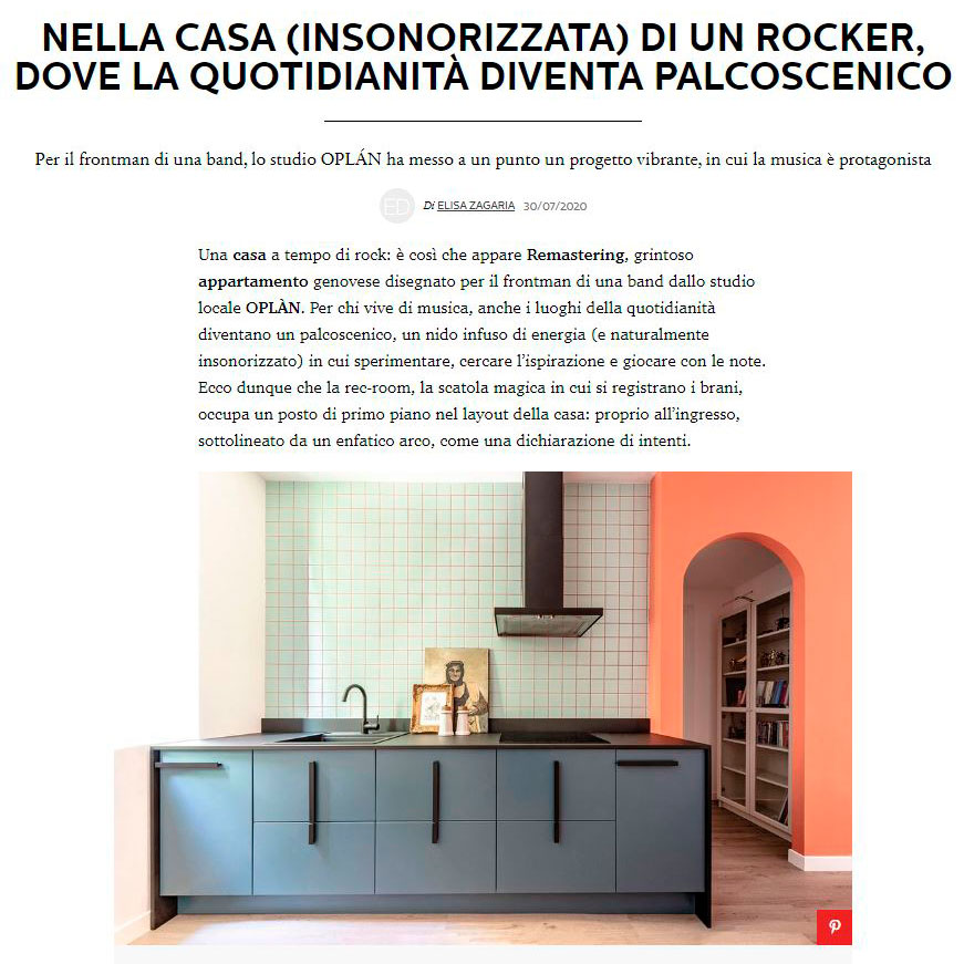 pubblicazione oplan elle decor italia