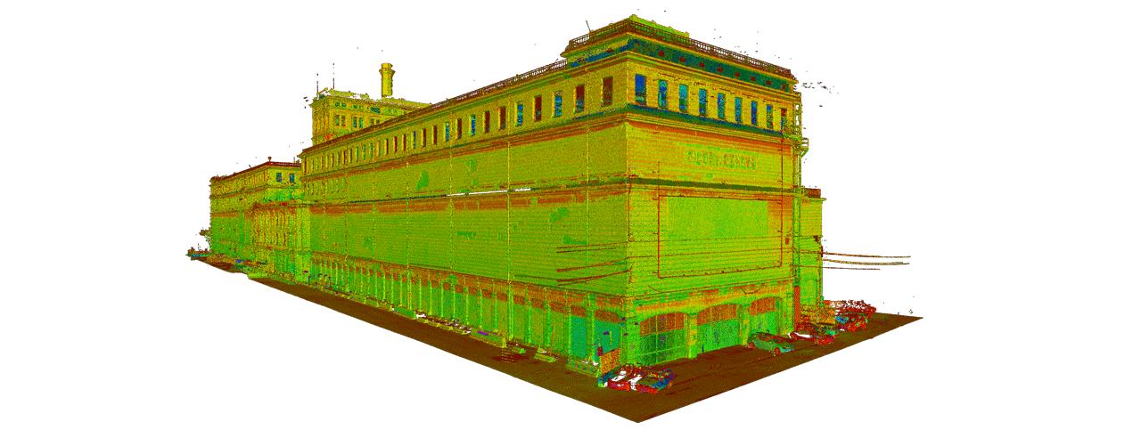 laser scanner genova hennebique
